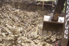 Wykop pod fundamenty